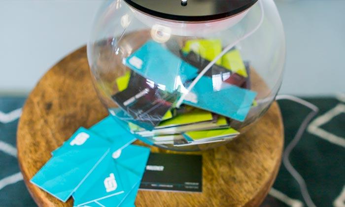 Captar cartão de visita - Ideias de Marketing para baixo orçamento