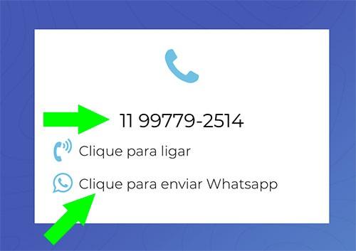 Marketing Digital - Link para Whatsapp no site